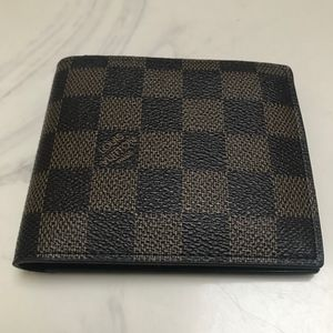 Mens New Checkerboard Wallet
